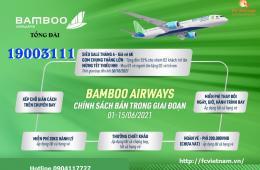 Vô Vàn Ưu Đãi Trong Tháng 6 Từ Bamboo Airways