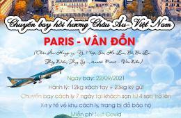 CHUYẾN BAY HỒI HƯƠNG  CHÂU ÂU - VIỆT NAM CỦA VIETNAM AIRLINES