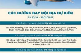 Vietnam Airlines Group Khôi Phục Đường Bay Nội Địa Từ 21/10 - 30/11