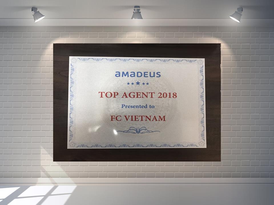 ✨ ✨ ✨ Congratulation to F.C Vietnam from Amadeus! 🔔 🔔 🔔  💋 💋 💋 Để có được thành quả ngày hôm nay, là nhờ sự tin tưởng đồng hành của Quý khách hàng suốt thời gian qua, cùng với sự hỗ trợ nhiệt tình của Amadeus. F.C Việt Nam sẽ cố gắng nỗ lực hết mình để tiếp tục phát huy cũng như phát triền dịch vụ ngày càng tốt hơn để làm hài lòng mọi quý khách hàng. Một lần nữa F.C Việt Nam xin chân thành cám ơn mọi Quý khách hàng đã đồng hành cùng chúng tôi suốt thời gian qua 🎉 🎉 🎉